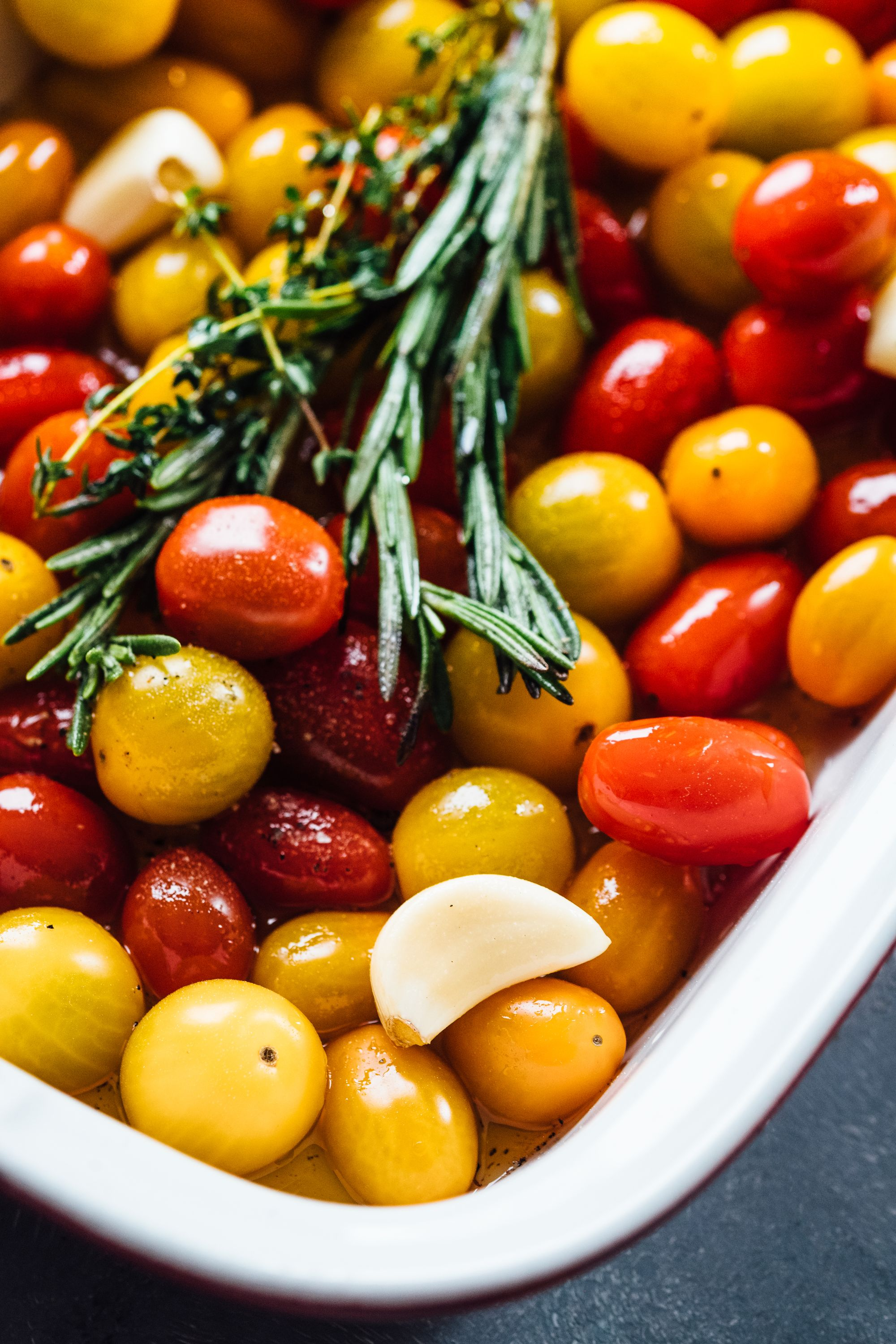 Tomato confit is easy to make from scratch
