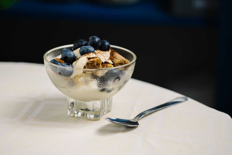 A fresh and fruity twist on a famousItalian dessert.
